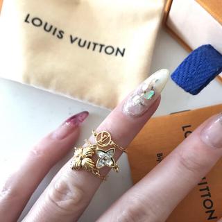LOUIS VUITTON - 正規ヴィトン  チェーンリング3set ブルーミングストラス