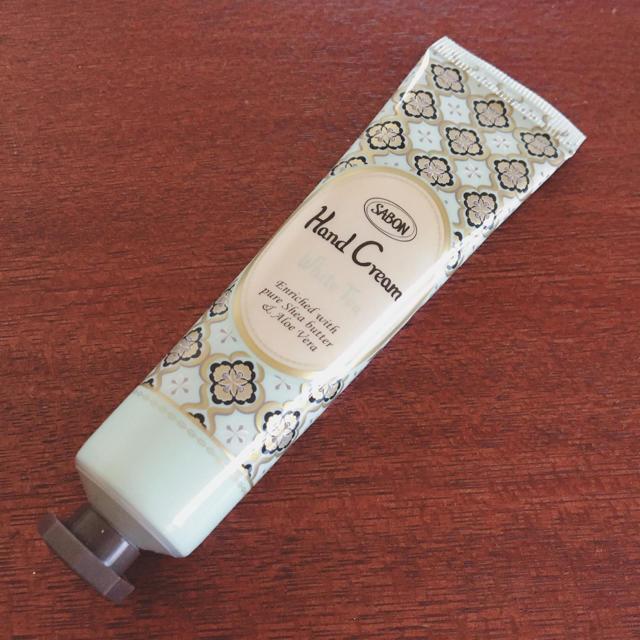 SABON(サボン)のSABON ホワイトティー ハンドクリーム コスメ/美容のボディケア(ハンドクリーム)の商品写真