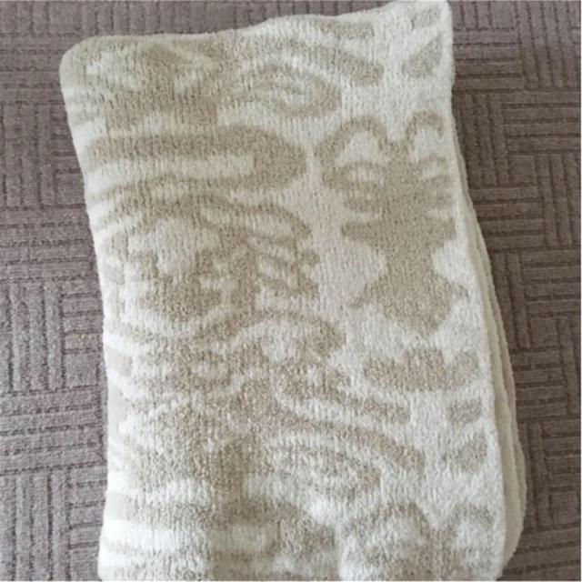 kashwere(カシウエア)の専用です!カシウェア   シングルブランケット モルト クリーム インテリア/住まい/日用品の寝具(毛布)の商品写真