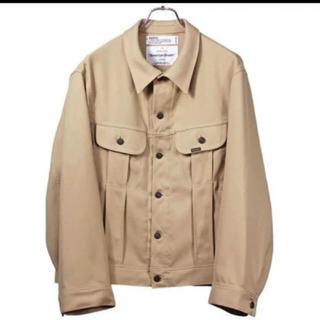 """UNUSED - DAIRIKU 19aw """"Regular"""" Polyester Jacket"""
