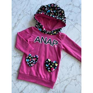 アナップキッズ(ANAP Kids)のアナップキッズ 女の子 ワンピース 猫耳(ワンピース)