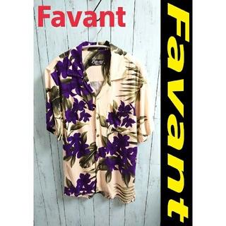 アートヴィンテージ(ART VINTAGE)のFavant アロハシャツ ハイビスカス柄模様 オープンカラーシャツ 開襟(シャツ)