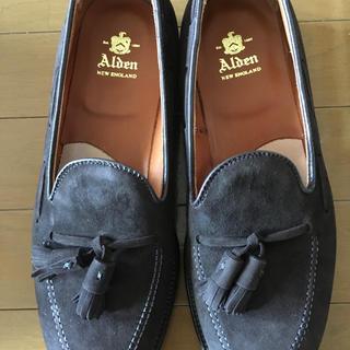 Alden - オールデン  ALDEN 666 タッセルローファー モカスウェード 7.5 D