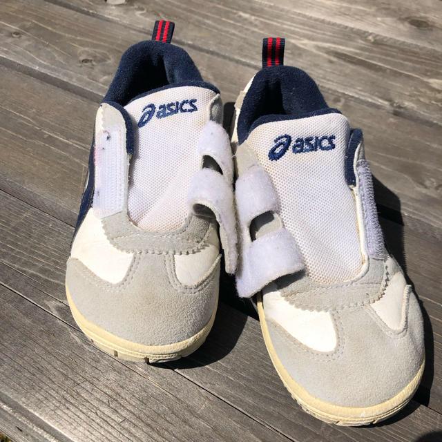 asics(アシックス)のasicsキッズシューズ★17cm キッズ/ベビー/マタニティのキッズ靴/シューズ(15cm~)(スニーカー)の商品写真