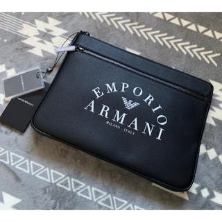 Emporio Armani - 希少!エンポリオ アルマーニ クラッチバッグ セカンドバッグ