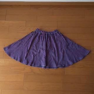 ベルメゾン - 女児 ギャザースカート