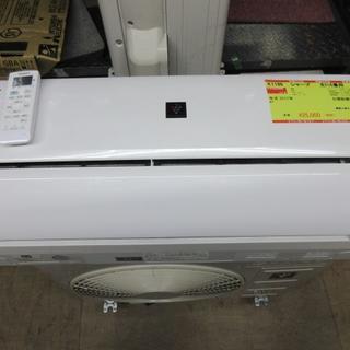 SHARP - K1186 シャープ 中古エアコン 主に6畳用 冷2.2kw/暖2.5kw