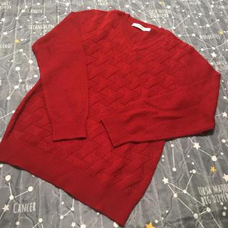 メンズメルローズ(MEN'S MELROSE)のMEN'S MELROSE 新品 セーター(ニット/セーター)