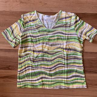 VネックTシャツ(Tシャツ(半袖/袖なし))