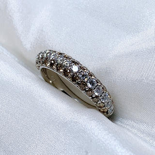 PonteVecchio - ポンテヴェキオ k18wg ダイヤモンド ファッションリング