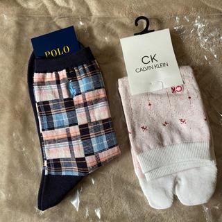 カルバンクライン(Calvin Klein)の靴下 POLO❣️CALVIN KLEIN(ソックス)