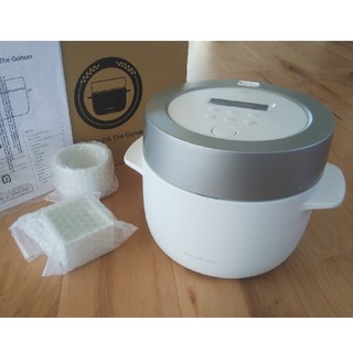 BALMUDA - バルミューダ 炊飯器 ホワイト 未使用