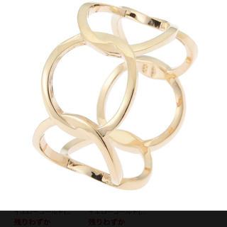 ココシュニック(COCOSHNIK)のココシュニック サークルモチーフ リング 10号 K10YG(リング(指輪))