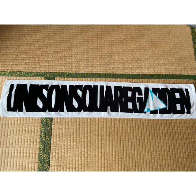 UNISON SQUARE GARDEN(ユニゾンスクエアガーデン)のマフラータオル エンタメ/ホビーのタレントグッズ(ミュージシャン)の商品写真
