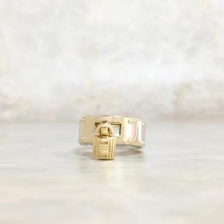 エルメス(Hermes)の正規品 エルメス 指輪 ケリー カデナ コンビ 金銀 ゴールド 鍵 カギ リング(リング(指輪))