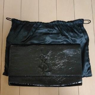 サンローラン(Saint Laurent)のイヴ サンローラン クラッチバッグ 黒 財布(クラッチバッグ)