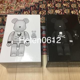 メディコムトイ(MEDICOM TOY)のBE@RBRICK mastermind JAPAN 100+400セット白&黒(その他)