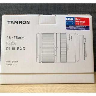 TAMRON - 【未開封新品】タムロン28-75mm F/2.8 DiIII RXD eマウント