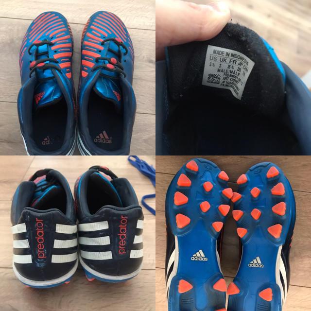 adidas(アディダス)のサッカースパイク トレシュー adidas 22センチ スポーツ/アウトドアのサッカー/フットサル(シューズ)の商品写真
