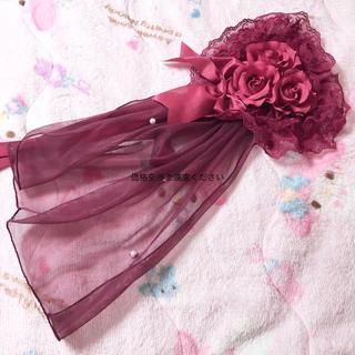 アンジェリックプリティー(Angelic Pretty)の【美品】Angelic Prett ハート型ヘッドドレス(その他)