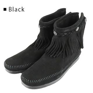 ミネトンカ(Minnetonka)のMINNETONKA ミネトンカ スエードブーツ(ブーツ)
