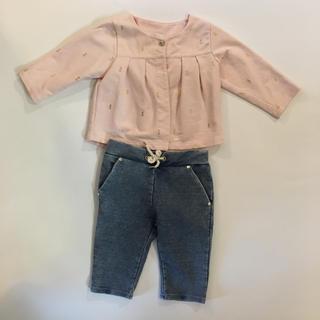 クロエ(Chloe)のchloe 子供服 6ヶ月 上下セット(その他)
