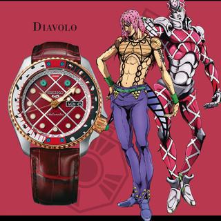セイコー(SEIKO)のジョジョx SEIKO5スポーツ 1,000本限定 腕時計(新品未使用)(腕時計(アナログ))