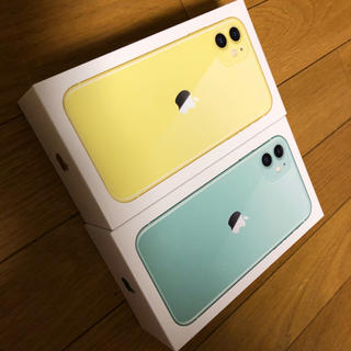 アイフォーン(iPhone)の空き箱(小物入れ)