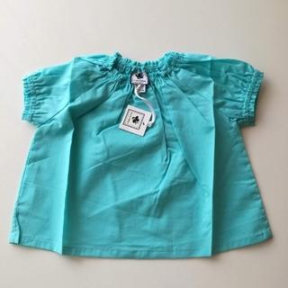 コドモビームス(こども ビームス)の新品 Busy Bees 半袖ベビードレス 12M 海外子供服(ワンピース)