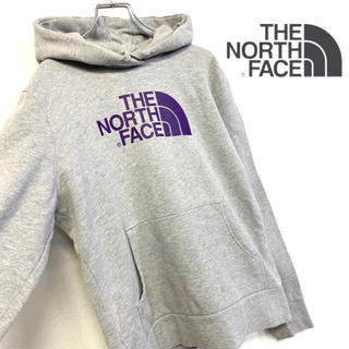 THE NORTH FACE - 美品 THE NORTH FACE スウェットパーカー ハーフドームロゴ