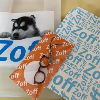 ゾフ(Zoff)のZoff メガネ型ストラップ ブラウン(ストラップ)