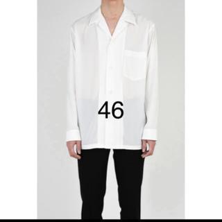 ラッドミュージシャン(LAD MUSICIAN)のパジャマ シャツ 18aw 新品未使用品46(シャツ)