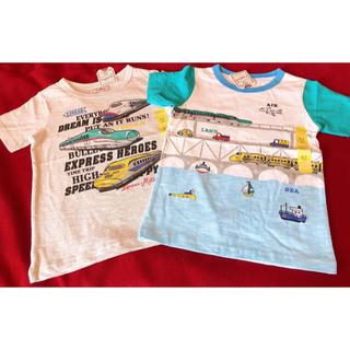 マザウェイズ(motherways)のTシャツ 半袖 120センチ✖️2枚 男の子 マザウェイズ(Tシャツ/カットソー)