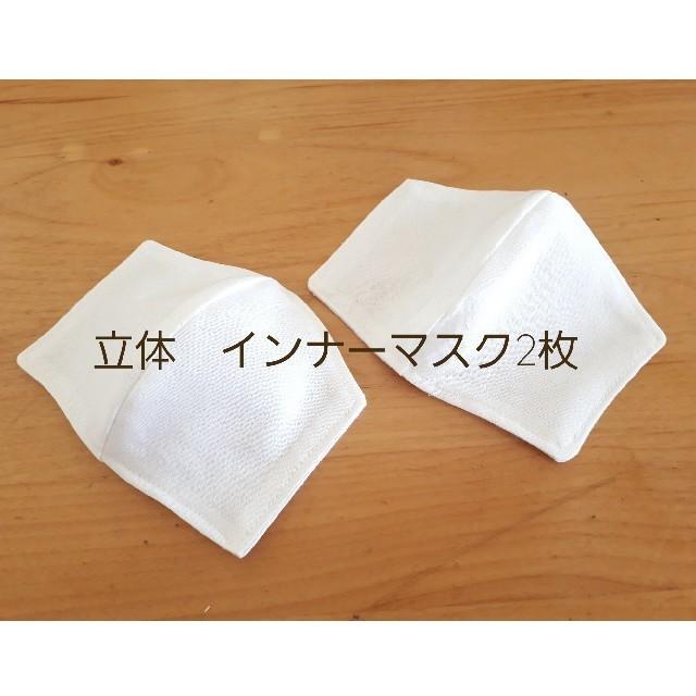 不織布 マスク 販売 50枚 、 立体 インナーマスク2枚の通販