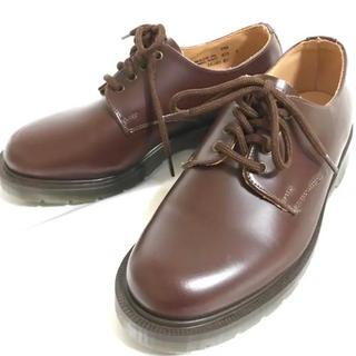 ドクターマーチン(Dr.Martens)の【未使用】定価3.2万 solovair 22.5cm 4EYE SHOE 革靴(ローファー/革靴)