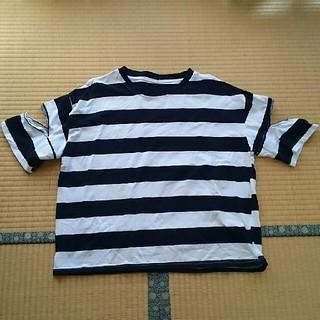 ムジルシリョウヒン(MUJI (無印良品))のボーダーTシャツ (Tシャツ(半袖/袖なし))