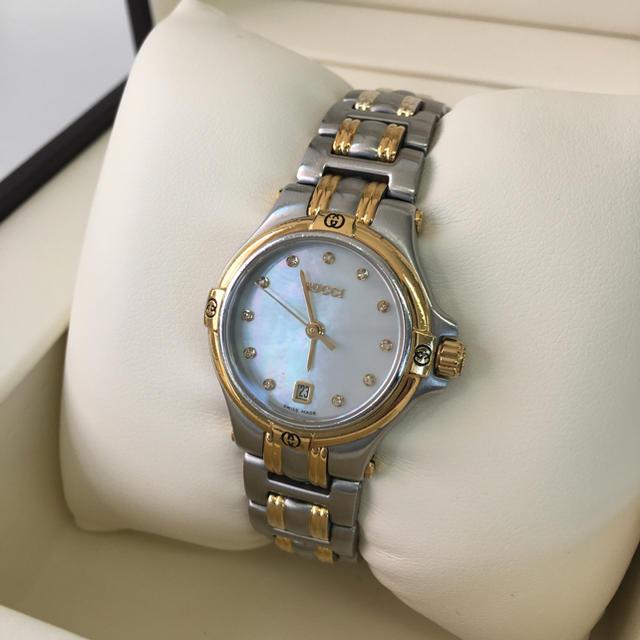 パテックフィリップコピーブランド,Gucci-GUCCIグッチ9040Lレディース腕時計ダイヤ11Pシェル文字盤の通販
