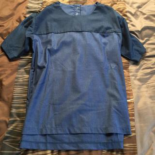 ステュディオス(STUDIOUS)のstudious  ブルーカットソー(Tシャツ/カットソー(半袖/袖なし))
