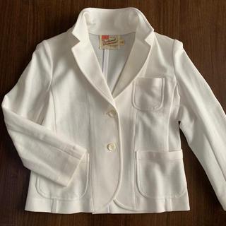 エディットフォールル(EDIT.FOR LULU)のテーラードジャケット白トラディショナルウェザーウエア美品(テーラードジャケット)
