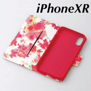ELECOM - iPhoneXRケーススリムソフトレザーカバー磁石付き 【ディープピンク】