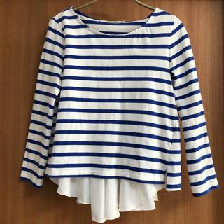 ココディール(COCO DEAL)のココディール ボーダーTシャツ キャミソール(Tシャツ(長袖/七分))