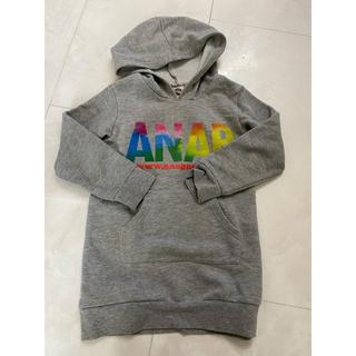 アナップキッズ(ANAP Kids)のANAPkids パーカーワンピース 110(ワンピース)