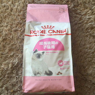 ROYAL CANIN - ロイヤルカナン 成長後期の子猫用  2キロ
