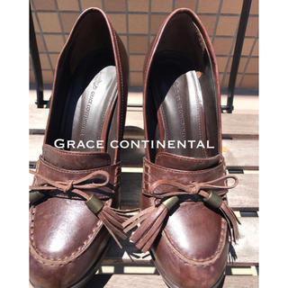 グレースコンチネンタル(GRACE CONTINENTAL)のGRACE continental 厚底ローファー(ローファー/革靴)