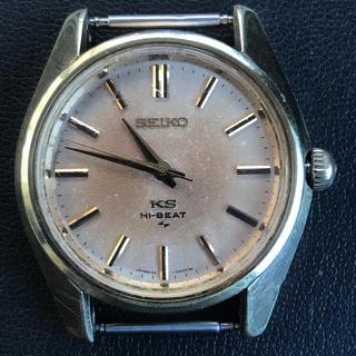 セイコー(SEIKO)のSEIKO 希少キングセイコー KS ハイビート メンズ 手巻き 45-7000(腕時計(アナログ))