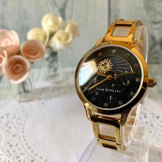 STAR JEWELRY - 【美品】STAR JEWELRY 2019 限定 ムーンフェイズ 腕時計