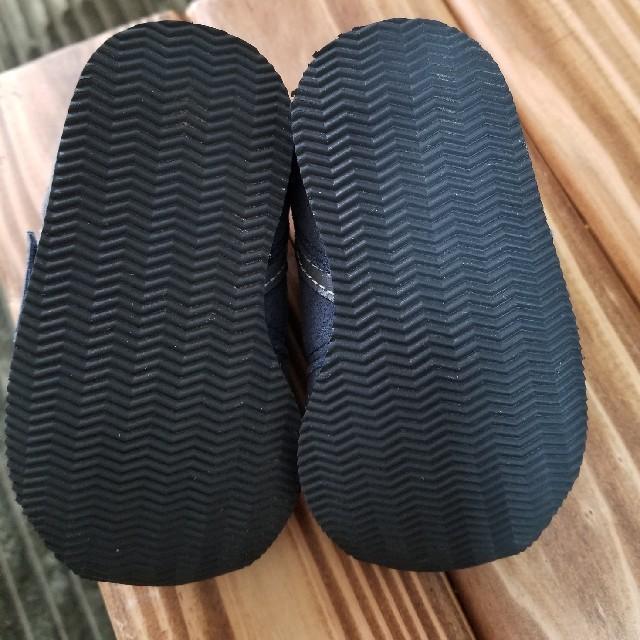 New Balance(ニューバランス)の12.5 ニューバランス スニーカー ネイビー キッズ/ベビー/マタニティのベビー靴/シューズ(~14cm)(スニーカー)の商品写真