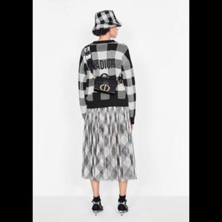 ディオール(Dior)のDIOR  カシミアニットとHERMES ミュール2点(ニット/セーター)
