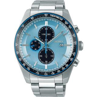 セイコー(SEIKO)のSEIKO 限定品 ソーラー メンズ腕時計 クロノグラフ SBPY143(腕時計(アナログ))