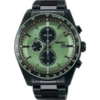 セイコー(SEIKO)のSEIKO 限定品 ソーラー メンズ腕時計 クロノグラフ SBPY147(腕時計(アナログ))